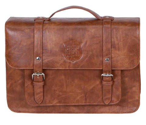 Michael Blast Pannier Case Crumpled Leather - Brown
