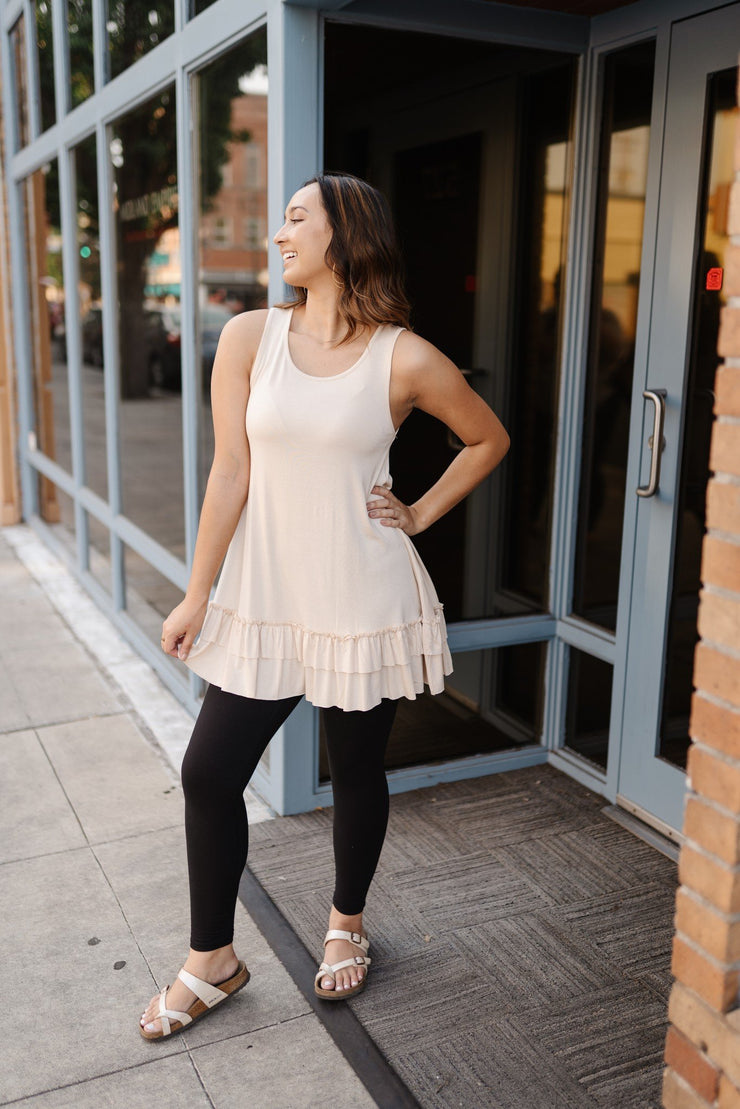 Champagne Nights Tunic Top - Simply Sass Boutique