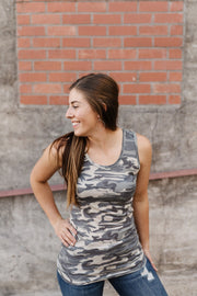 Brazilian Jungle Tank - Women's Clothing AfterPay Sezzle KanCan Judy Blue Simply Sass Boutique