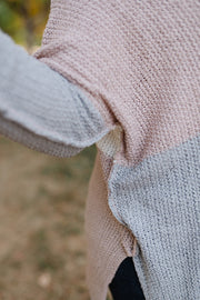 Step Out Of The Boxy Sweater In Mauve