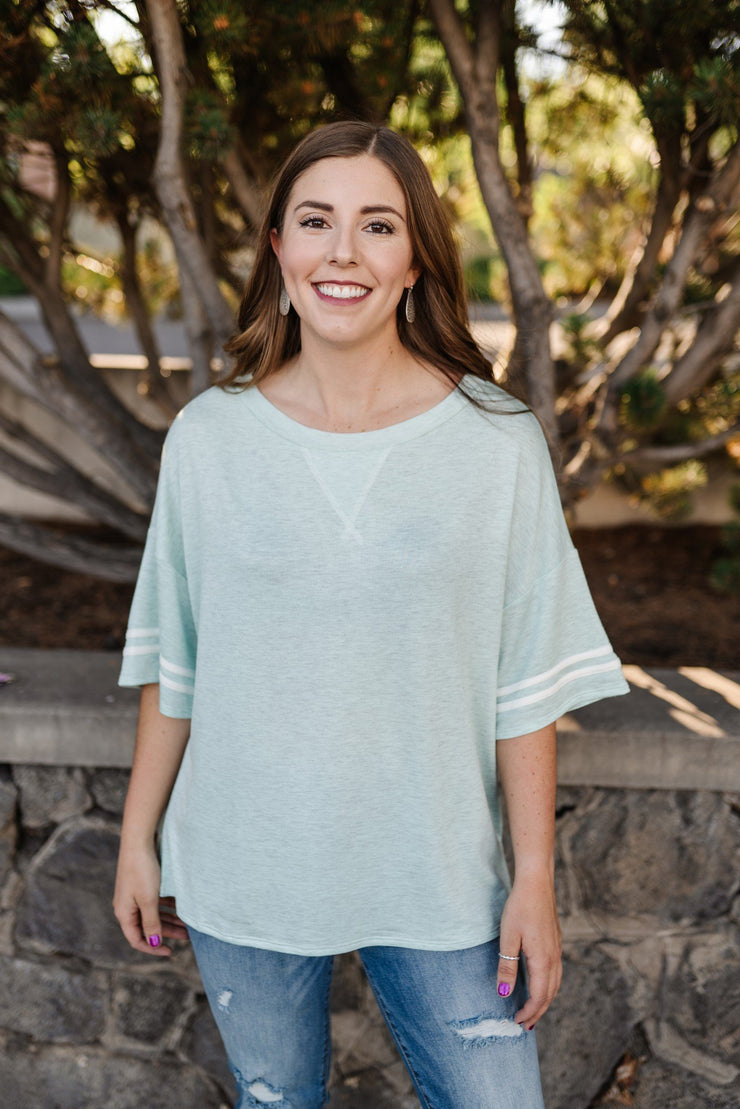 Magical Mint Top - Women's Clothing AfterPay Sezzle KanCan Judy Blue Simply Sass Boutique