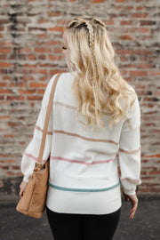 The Stripes Have It Sweater - Women's Clothing AfterPay Sezzle KanCan Judy Blue Simply Sass Boutique