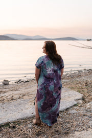 Strike Our Fancy Maxi Dress In Purple Haze