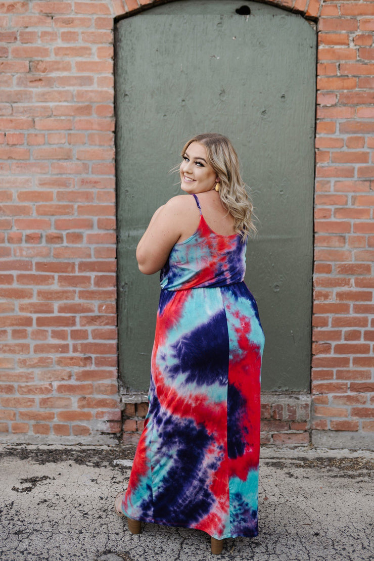 Caribbean Nights Maxi Dress