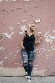 Mad for Plaid Judy Blue Jeans - Simply Sass Boutique