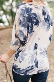 Paint Me Like a Watercolor Top - Women's Clothing AfterPay Sezzle KanCan Judy Blue Simply Sass Boutique