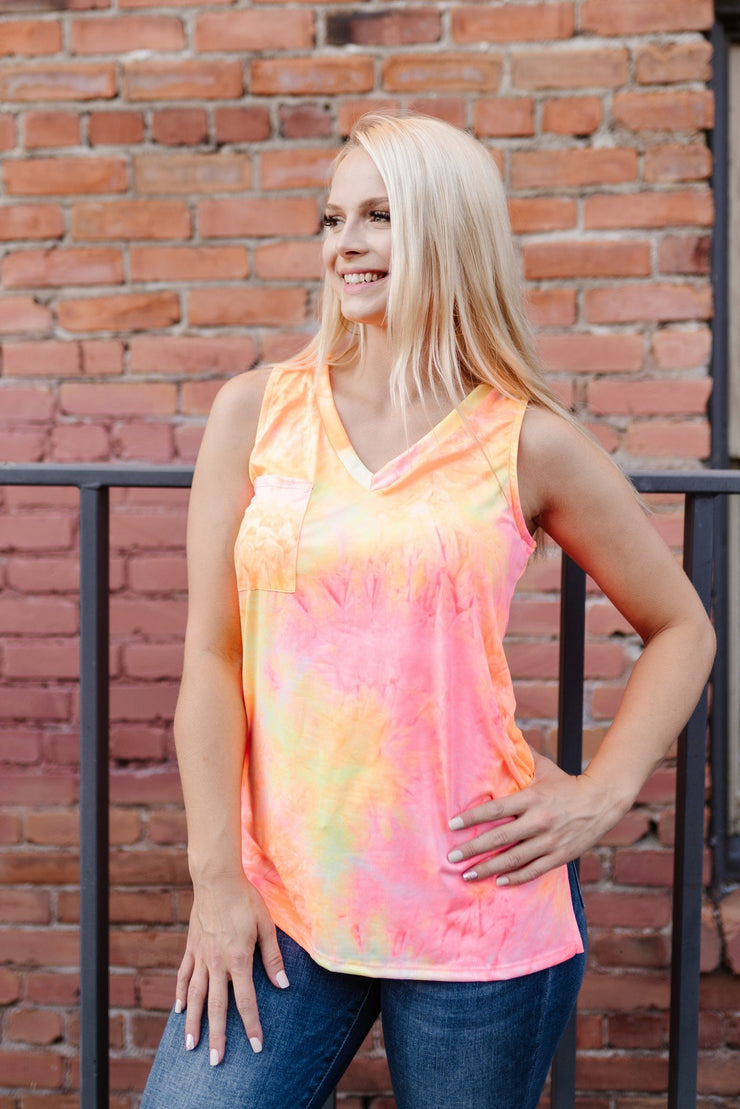 Bright Lights Neon Tank - Women's Clothing AfterPay Sezzle KanCan Judy Blue Simply Sass Boutique