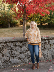 Mustard For Days Leopard Sweater - Women's Clothing AfterPay Sezzle KanCan Judy Blue Simply Sass Boutique