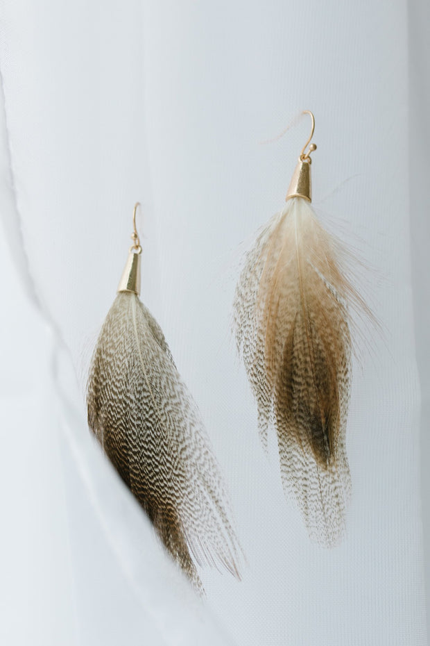 Light As A Feather Earrings - Simply Sass Boutique