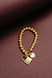 Charmed, I'm Sure Bracelet in Gold - Women's Clothing AfterPay Sezzle KanCan Judy Blue Simply Sass Boutique
