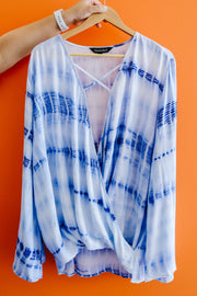 X Marks The Tie Dye Top - Women's Clothing AfterPay Sezzle KanCan Judy Blue Simply Sass Boutique