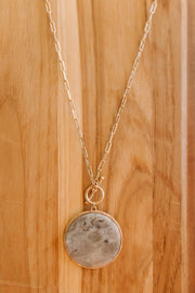 Marble And Chain Necklace - Simply Sass Boutique