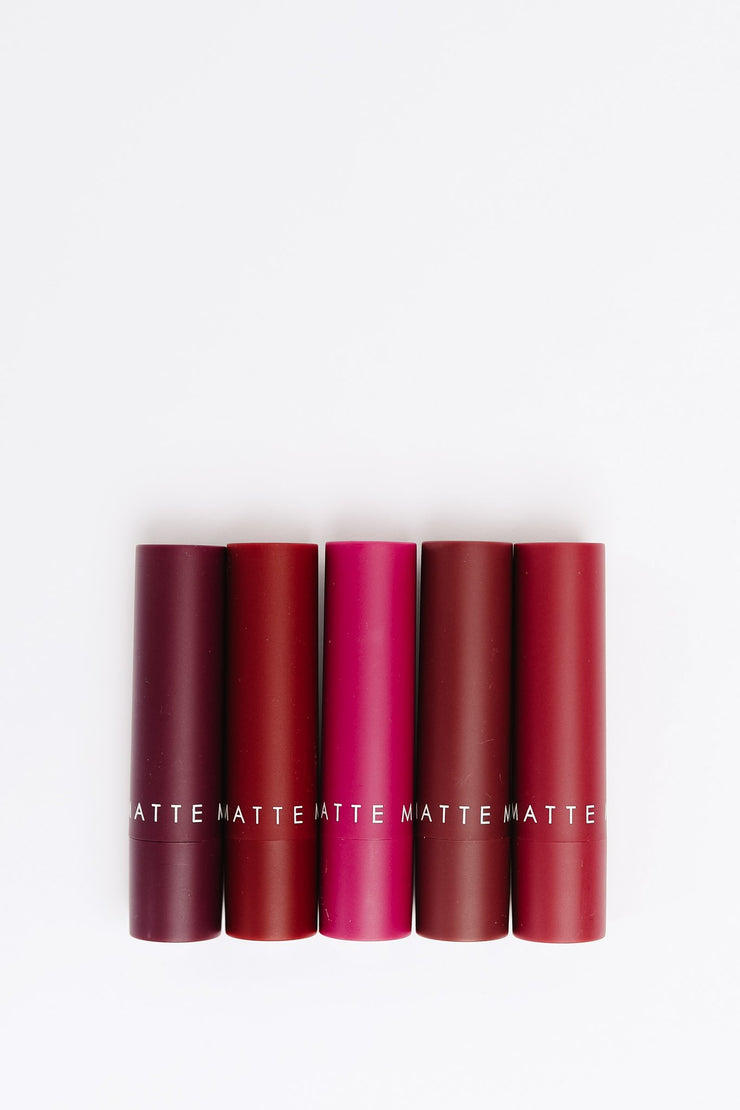 Madeline Matte Lipstick: The Plum Collection - Women's Clothing AfterPay Sezzle KanCan Judy Blue Simply Sass Boutique