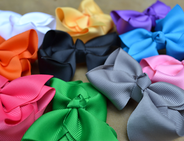 "Hair Bows - 5"" - Women's Clothing AfterPay Sezzle KanCan Judy Blue Simply Sass Boutique"