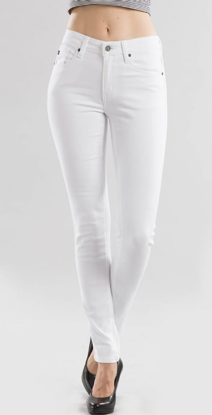 White KanCan Skinny Jeans - In House - Women's Clothing AfterPay Sezzle KanCan Judy Blue Simply Sass Boutique