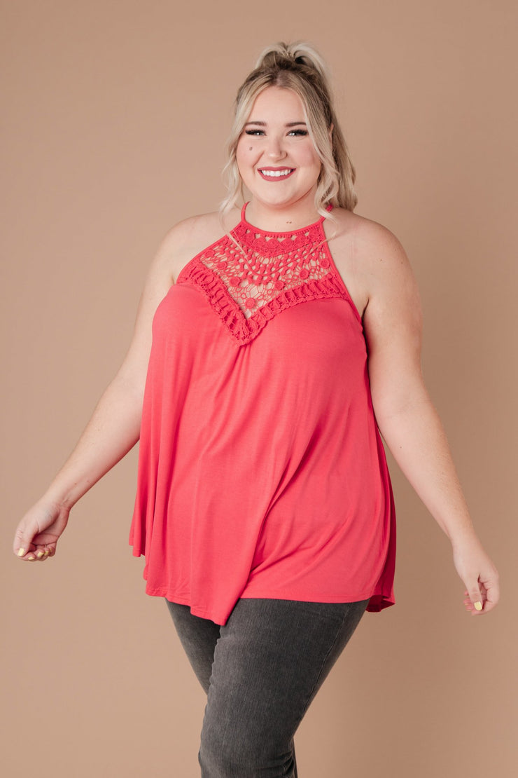 Just For Show Top In Pink - Simply Sass Boutique