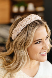 Beaming Braided Headband - Simply Sass Boutique