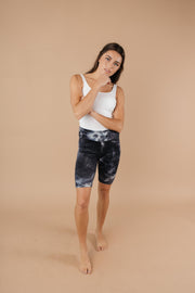 Biking In Style Black Biker Shorts - Women's Clothing AfterPay Sezzle KanCan Judy Blue Simply Sass Boutique