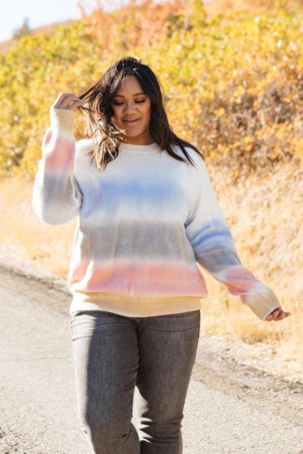 Blurred Lines Sweater - Women's Clothing AfterPay Sezzle KanCan Judy Blue Simply Sass Boutique