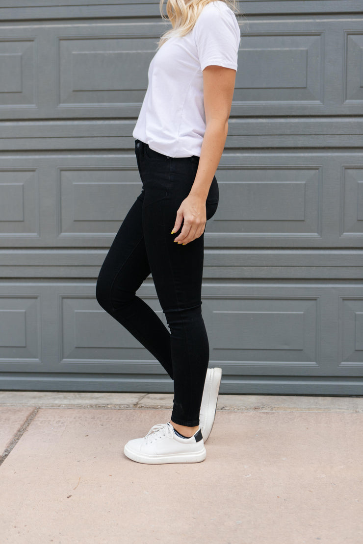 Brooklyn Black Jeans - Women's Clothing AfterPay Sezzle KanCan Judy Blue Simply Sass Boutique