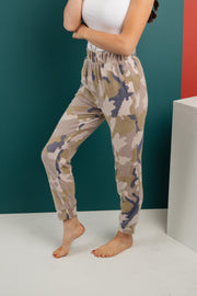 Brushed Camouflage Bottoms - Women's Clothing AfterPay Sezzle KanCan Judy Blue Simply Sass Boutique