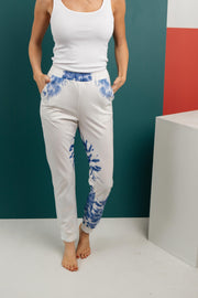 Bursts Of Blue Joggers - Women's Clothing AfterPay Sezzle KanCan Judy Blue Simply Sass Boutique