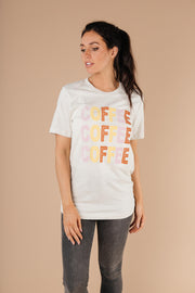 Caffeine Addiction Graphic Tee - Women's Clothing AfterPay Sezzle KanCan Judy Blue Simply Sass Boutique