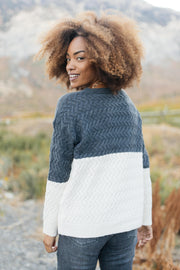 Casually Cozy Sweater in Charcoal - Women's Clothing AfterPay Sezzle KanCan Judy Blue Simply Sass Boutique
