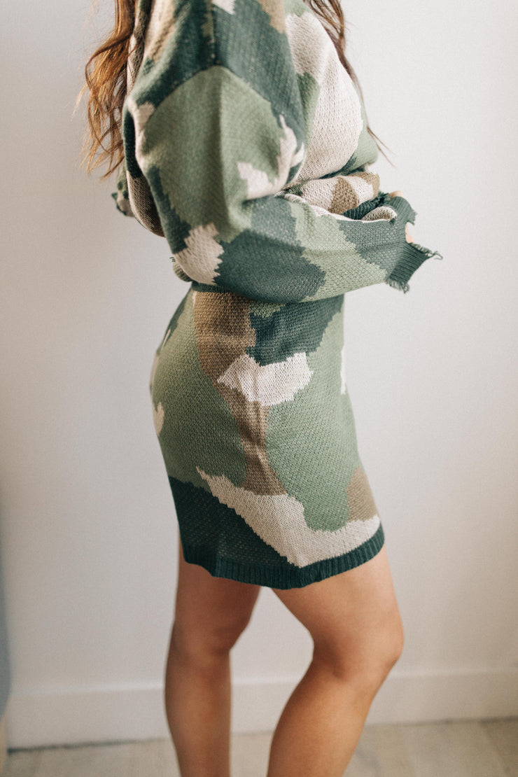 Chasing Sleep Lounge Set Shorts in Camo - Women's Clothing AfterPay Sezzle KanCan Judy Blue Simply Sass Boutique