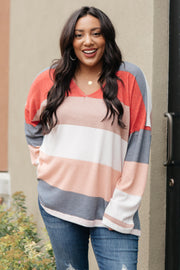 Chunky Stripes Top - Women's Clothing AfterPay Sezzle KanCan Judy Blue Simply Sass Boutique