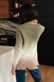 Color Melt Sweater in Olive - Women's Clothing AfterPay Sezzle KanCan Judy Blue Simply Sass Boutique
