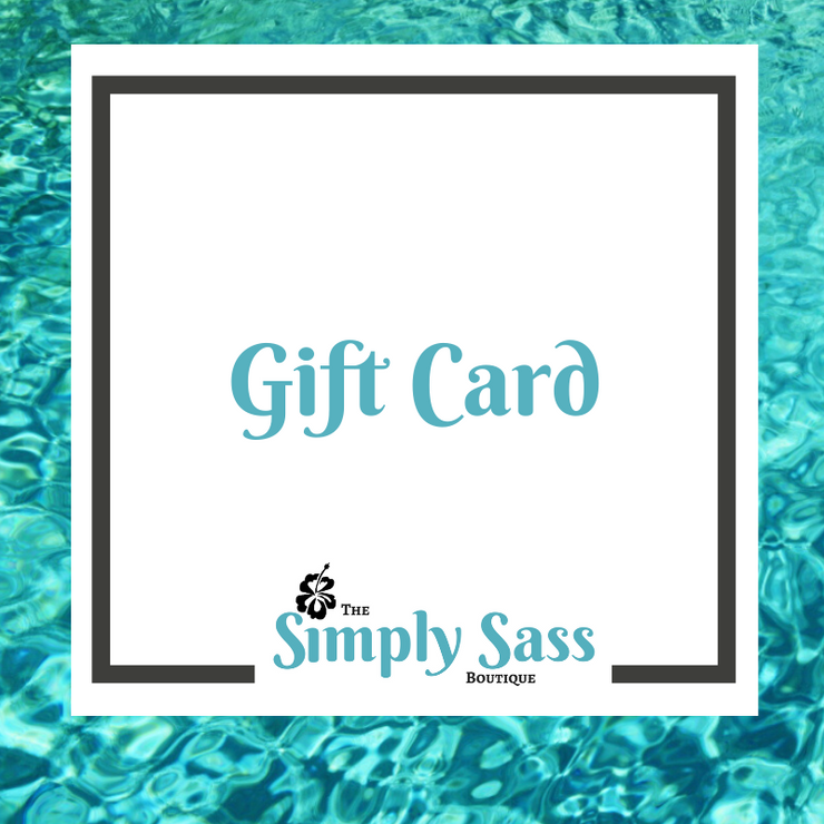 Gift Card - Women's Clothing AfterPay Sezzle KanCan Judy Blue Simply Sass Boutique