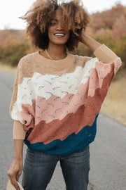 Designed For Details Sweater in Rust - Women's Clothing AfterPay Sezzle KanCan Judy Blue Simply Sass Boutique
