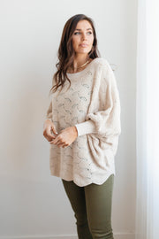 Designed For Details Top in Taupe - Women's Clothing AfterPay Sezzle KanCan Judy Blue Simply Sass Boutique