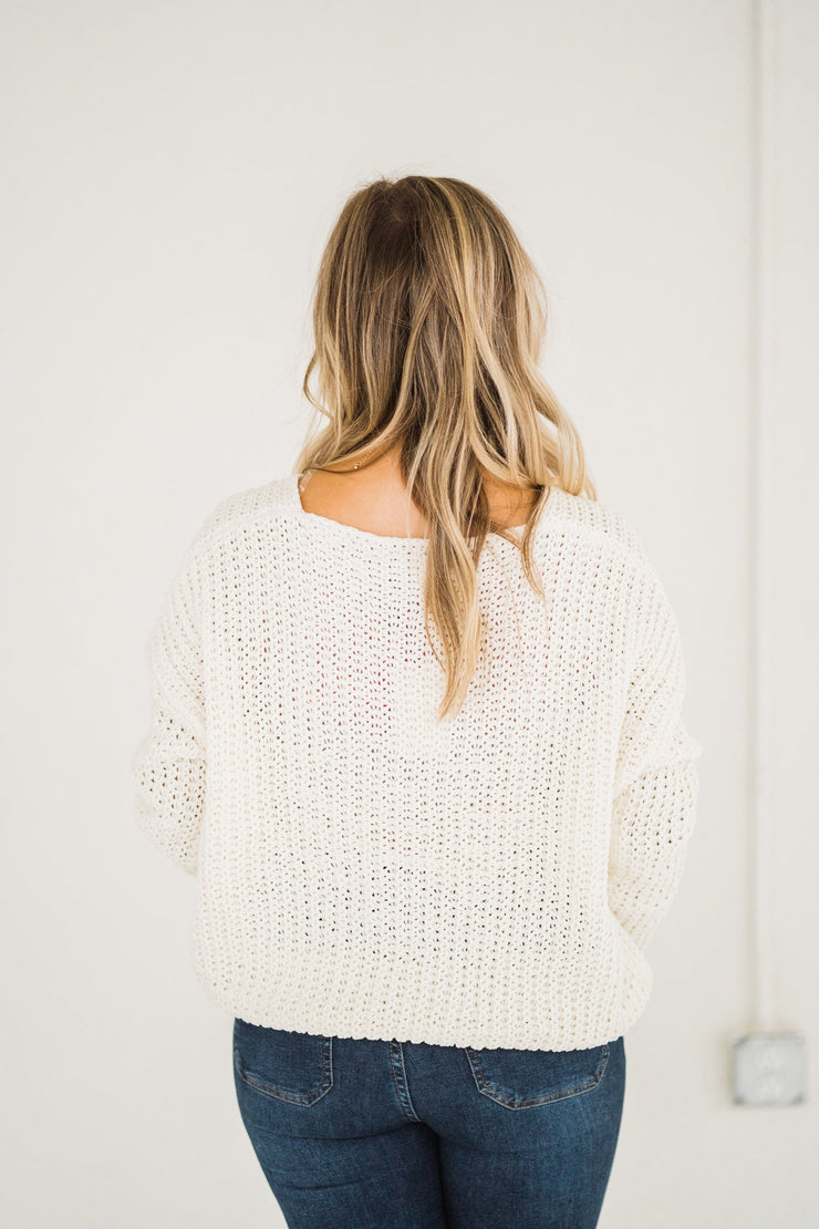 First Snowfall Sweater