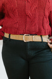 Fasten Your Belt in Camel - Women's Clothing AfterPay Sezzle KanCan Judy Blue Simply Sass Boutique