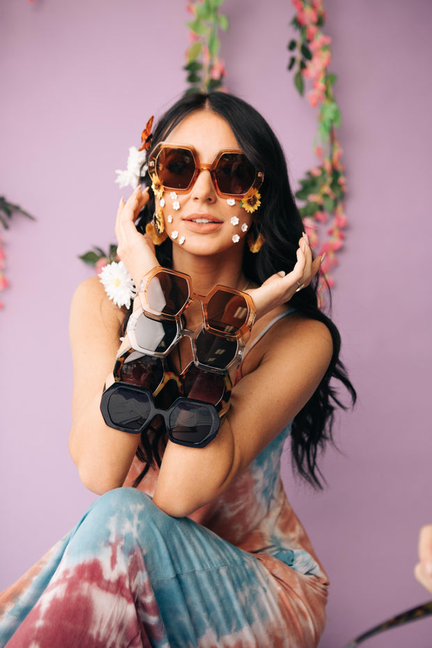 Flower Child Shades - Women's Clothing AfterPay Sezzle KanCan Judy Blue Simply Sass Boutique