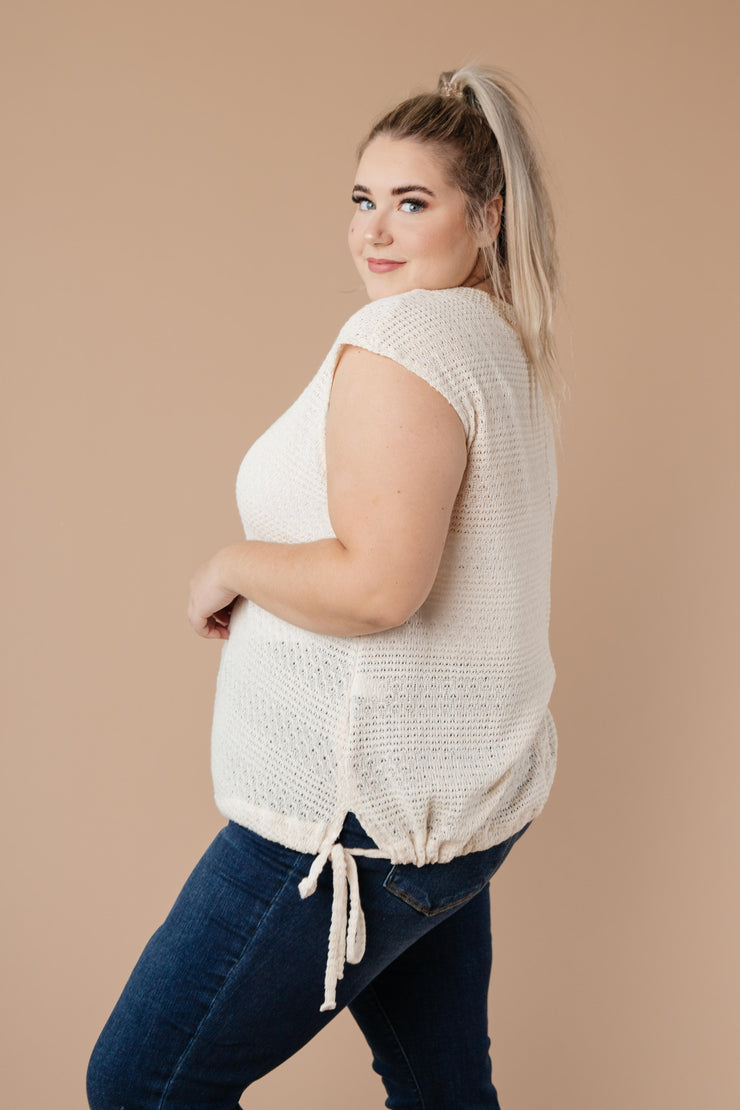 Girls Don't Sweat Sweater In Cream - Women's Clothing AfterPay Sezzle KanCan Judy Blue Simply Sass Boutique