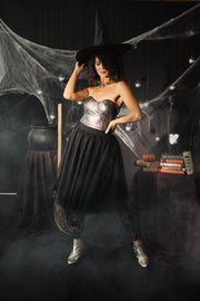 Magical Metallic Corset - Women's Clothing AfterPay Sezzle KanCan Judy Blue Simply Sass Boutique