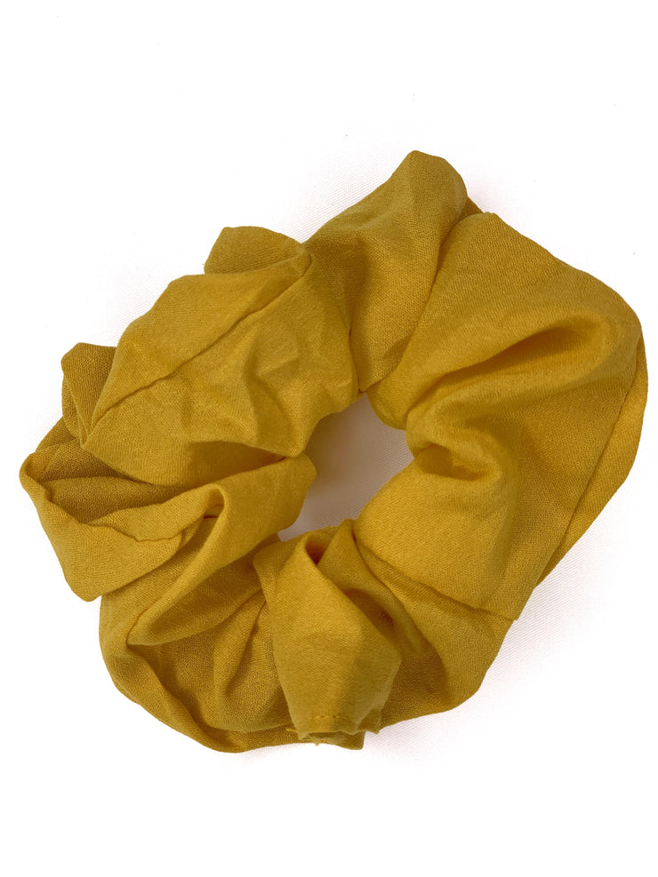 Hair Scrunchie - Mustard - Women's Clothing AfterPay Sezzle KanCan Judy Blue Simply Sass Boutique