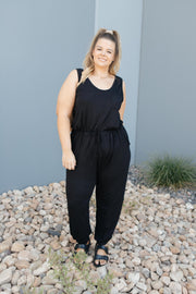 Jump In Jumpsuit In Black - Simply Sass Boutique