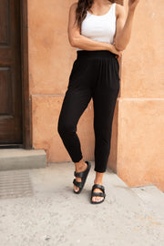 Keepin' Me Cozy Pants - Women's Clothing AfterPay Sezzle KanCan Judy Blue Simply Sass Boutique