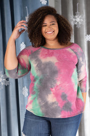 Leslie Ladder Sleeve Top in Fuschia - Women's Clothing AfterPay Sezzle KanCan Judy Blue Simply Sass Boutique