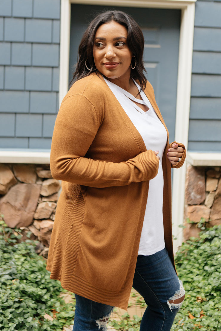 Million Dollar Caramel Cardigan - Women's Clothing AfterPay Sezzle KanCan Judy Blue Simply Sass Boutique