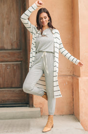 Northside Cardi in White - Women's Clothing AfterPay Sezzle KanCan Judy Blue Simply Sass Boutique