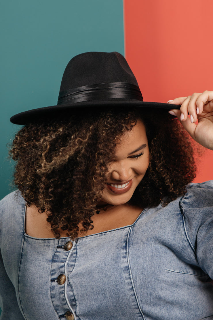 One Last Black Hat - Women's Clothing AfterPay Sezzle KanCan Judy Blue Simply Sass Boutique