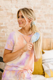 Pastel Marble Wet N Dry Brush - Women's Clothing AfterPay Sezzle KanCan Judy Blue Simply Sass Boutique