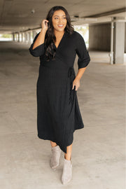 Reckless Abandon Dress In Black - Women's Clothing AfterPay Sezzle KanCan Judy Blue Simply Sass Boutique