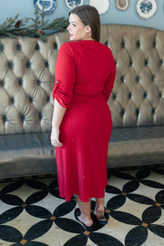 Reckless Abandon Dress In Red - Women's Clothing AfterPay Sezzle KanCan Judy Blue Simply Sass Boutique