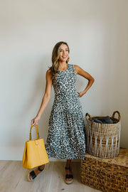 Sage Cheetah Dress - Simply Sass Boutique